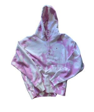Pink custom bleached hoodie size large for Sale in Beaverton, OR