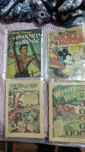 To Walt Disney and to classic illustrated comic books for Sale in Phoenix, AZ
