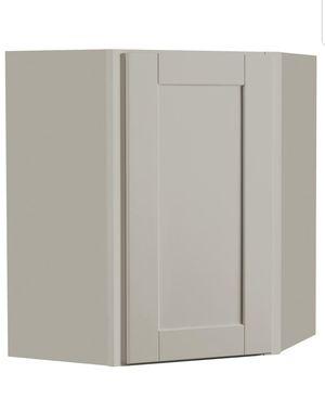 New Hampton Bay Shaker Corner Wall Kitchen Cabinet, Retail $189!!!-$95( for Sale in Hammond, IN