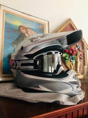 Shoei VFX-W Off-Road/Motocross Helmet (Large) + Goggles (Mint) for Sale in Walnut Creek, CA