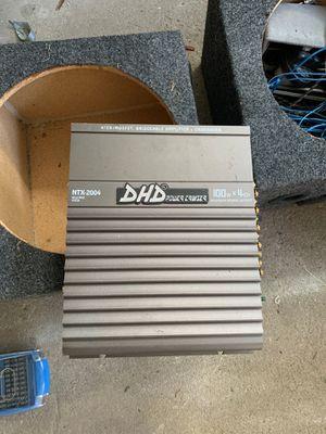 DHD 100w x 4 ch for Sale in Bridgeville, PA