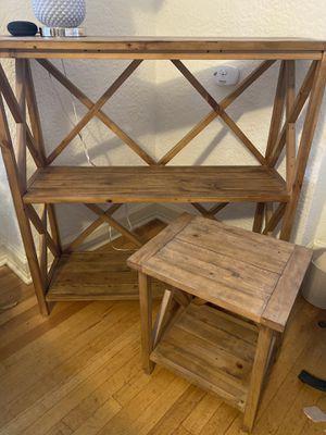 Wood table set for Sale in Denver, CO