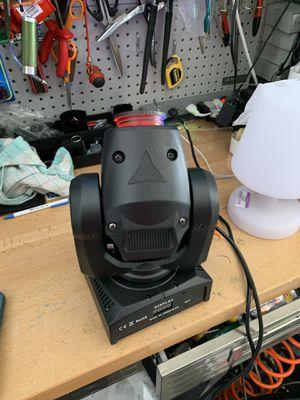 Disco lights 70watt set of 2 for Sale in Naples, FL