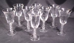 8 Candlewick Imperial Clear Water Goblets for Sale in Crofton, MD