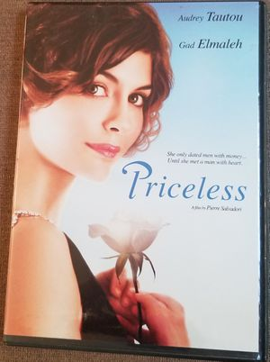 Priceless dvd movie stars Audrey Tautou for Sale in Three Rivers, MI