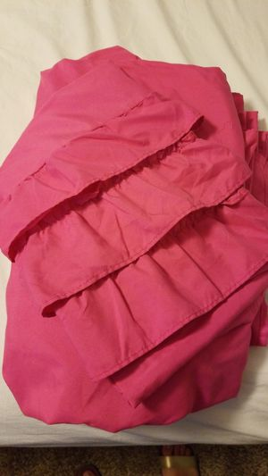Full size Hot pink sheets for Sale in Visalia, CA