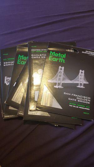 13 Metal Earth Steel Model Kit Sets for Sale in Redwood City, CA