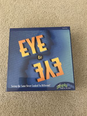 Simply Fun Eye To Eye board game - NEW sealed for Sale in Waukesha, WI