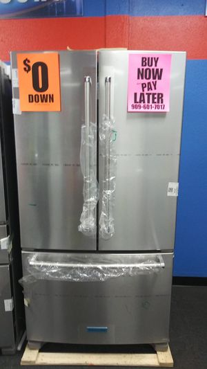 KITCHENAID💕refrigerator💕 OPEN SUNDAY💕 buy now pay later 💕 we accept itin 🌛only 0-40$ down 💒no credit needed 💒 ask 4 yasmine 4 discount for Sale in Riverside, CA