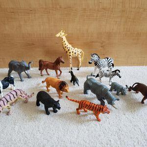 Wild Animal Figurine Toys for Sale in St. Petersburg, FL