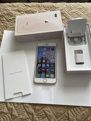 iPhone 8 plus AT&T 256GB. Brand new with box and accessories for Sale in Portsmouth, VA