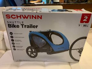 Bike trailer for 2 kids (2 person up to 80 pounds) Brand New for Sale in Tampa, FL