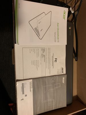 Acer chromebook laptop for Sale in Columbus, OH