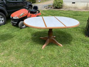 Kitchen table with leaf $75 OBO for Sale in Swoope, VA