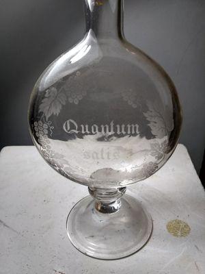 Vintage Etched Glass Decanter for Sale in Rockville, MD