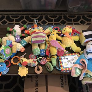 Baby Toys From Birth To 12 Months old. Infantino, sassy, early years, tiny love for Sale in Tacoma, WA
