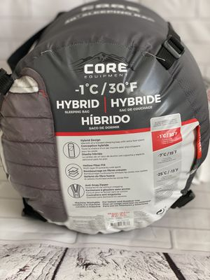 Sleeping Bag 30° F Core Equipment for Sale in Moreno Valley, CA