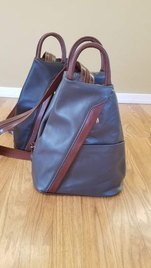 Italian Leather Backpack for Sale in Tucson, AZ