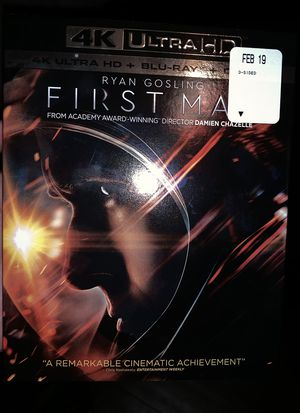 First man 4K new for Sale in Sanger, CA