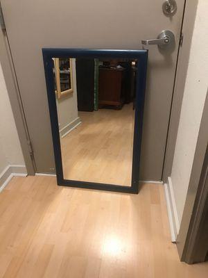 "Blue mirror - 22"" x 35"" for Sale in Washington, DC"