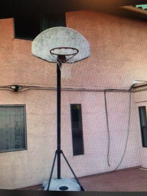 Portable basketball hoop. for Sale in Tucson, AZ