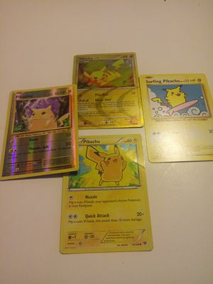 Pikachu lot (pokemon cards) for Sale in Chicago, IL