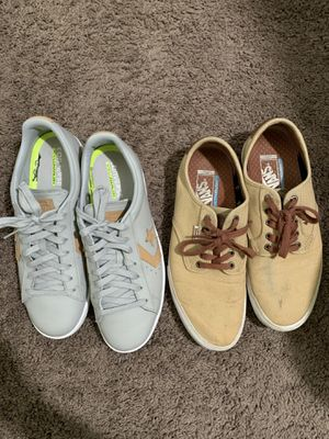 Converse and Vans for Sale in Lemoore, CA
