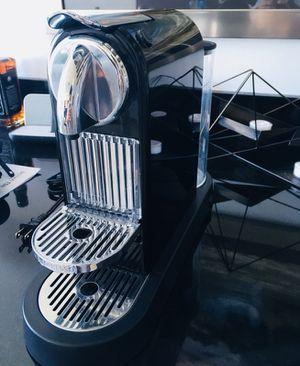 Nespresso Coffee Maker - Citiz Model with Aerocino milk frother for Sale in Miami, FL