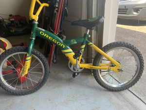 Child's bicycle-Oregon football bicycle and very rare for Sale in Portland, OR