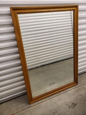 Mirror solid wood frame for Sale in Suisun City, CA