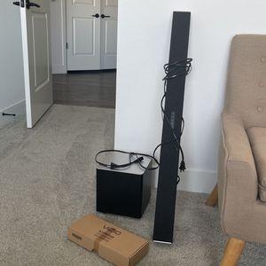 New Condition Vizio Soundbar With Subwoofer for Sale in Tempe, AZ