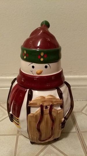 Cookie Jar Snowman for Sale in Garden Grove, CA