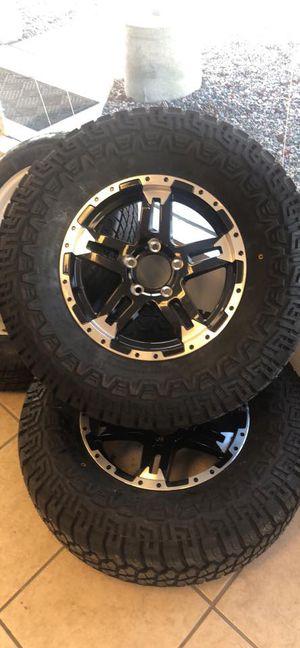 "New Trailer Tire - replaces 205/75/15 or 225/75/15 - 15"" 5 lug trailer tire - aggressive tread - on aluminum rim - 15"" 5 lug trailer tire for Sale in Plant City, FL"