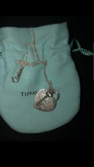 FS: Authentic Tiffany&Co Heart Tag with Key Pendant for Sale in Long Beach, CA