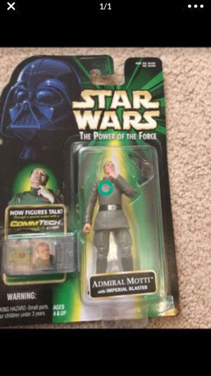 Rare Star Wars Admiral Motti Action Figure for Sale in Selma, TX