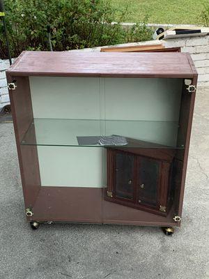 Glass Book Case - Shelf - Furniture - Jewelry Box for Sale in Pomona, CA