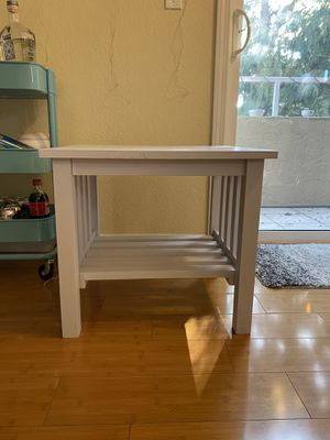 Wood Side table for Sale in Seattle, WA