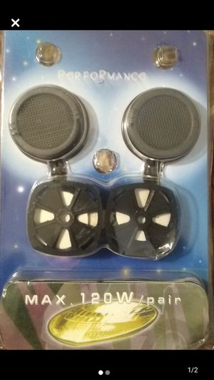 120 watt tweeter car speakers 🔊 for Sale in Los Angeles, CA