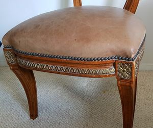 Antique vintage chair nailhead for Sale in New York, NY