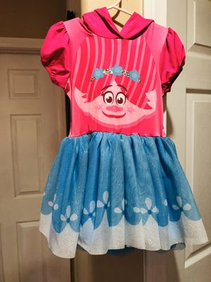 Princess trolls poppy dress and head band for Sale in Industry, CA