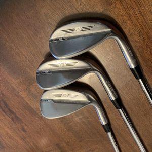 Titleist Golf Vokey SM8 Tour Chrome Wedge Set for Sale in Seattle, WA