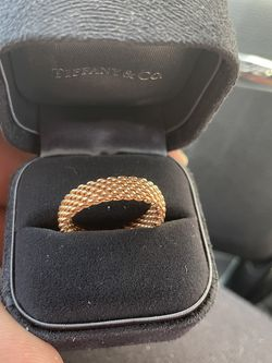 18k Rose Gold Tiffany & Co. Mesh Ring for Sale in Miami,  FL