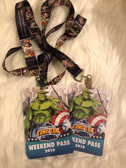 Bell County Comic Con weekend passes for Sale in Killeen,  TX