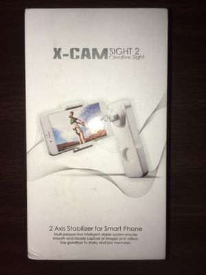 NEW Smartphone Gimbal X-CAM SIGHT2 Handheld Stabilizer for Smartphon for Sale in Sunnyvale, CA