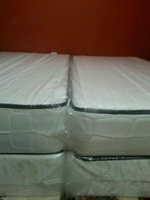 2twin new plush beds can deliver for Sale in Charlotte, NC