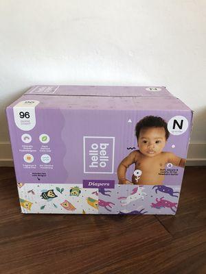Hello Bello Newborn Diapers for Sale in Santa Clara, CA