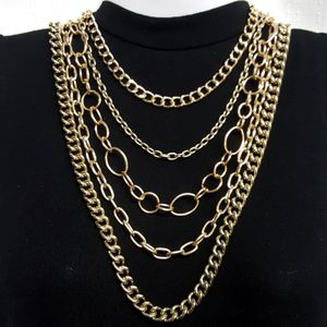 Gorgeous Gold Multi Chain Necklace for Sale in Aurora, OH