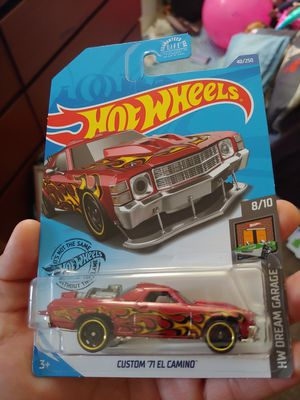 1971 custom Chevy El Camino 1/64 scale 🔥 hot wheel (half off only if you pickup) for Sale in Long Beach, CA