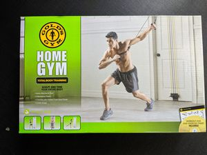 Gold's Gym Home Gym Total Body Resistance Training Exercise Program Door Attached for Sale in Ann Arbor, MI