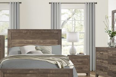 🌟🌟 SAVE UP 70 % OFF BEDROOM SET: QUEEN BED + NIGHTSTAND+ DRESSER+ MIRROR (**Mattress and Chest not included**) for Sale in Manhattan Beach,  CA